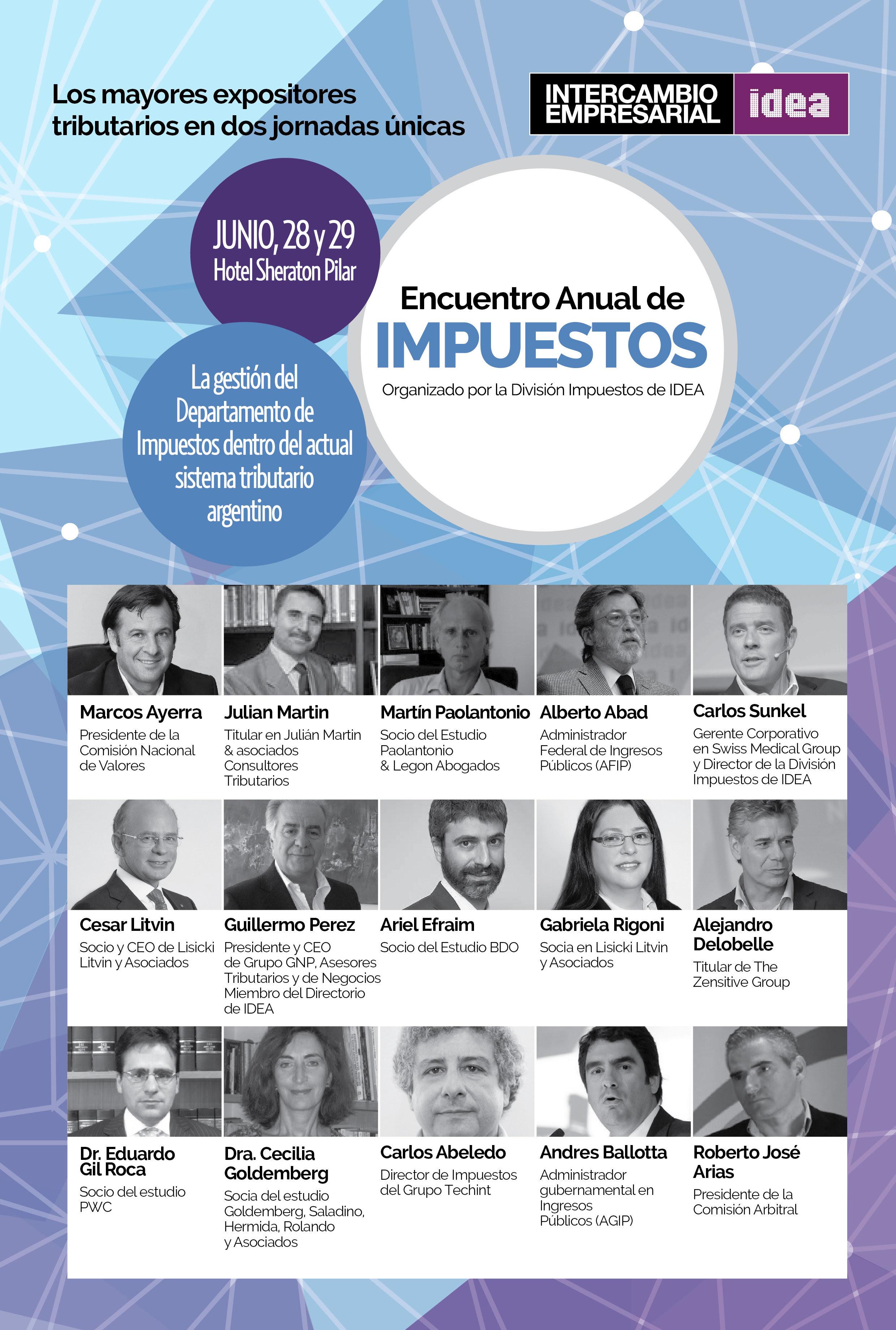 Alejandro Delobelle | Encuentro IDEA Impuestos Junio 2017