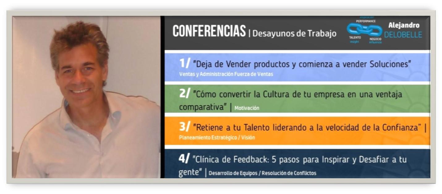 Delobelle Alejandro Conferencias