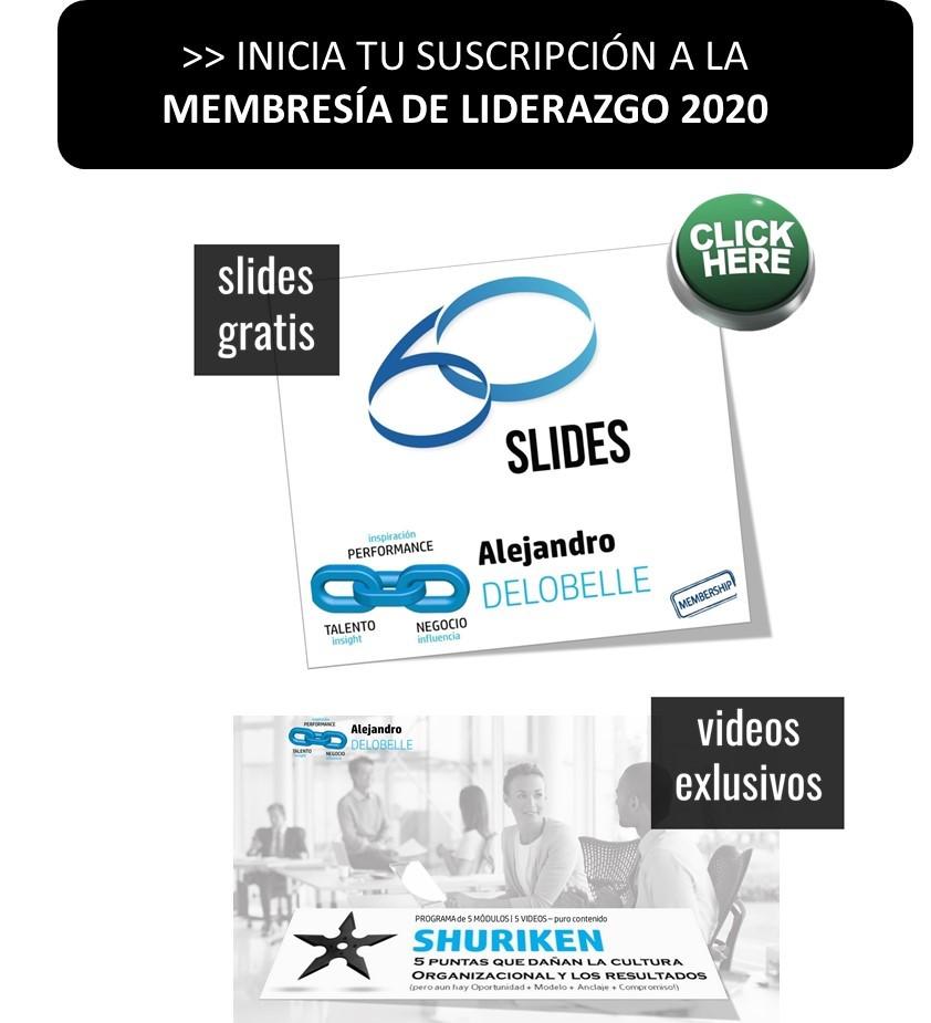 + INFO sobre la Membresía de Alejandro Delobelle