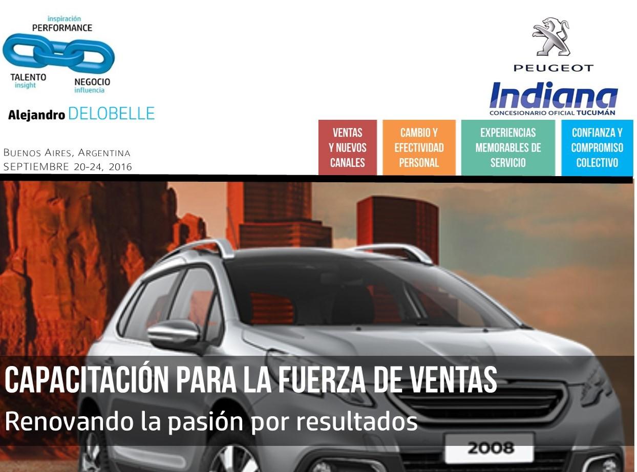 Concesionaria Indiana | Capacitacion en Ventas | Alejandro Delobelle
