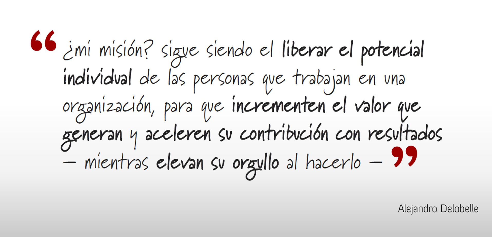 Alejandro Delobelle | Misión